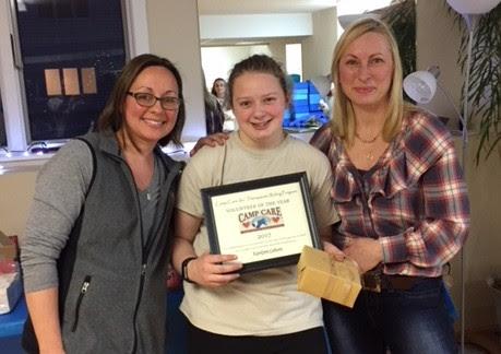 Volunteer of the Year: Katie Cahoon